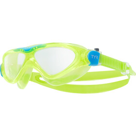 TYR Rogue Swim Mask Kids clear/yellow/orange